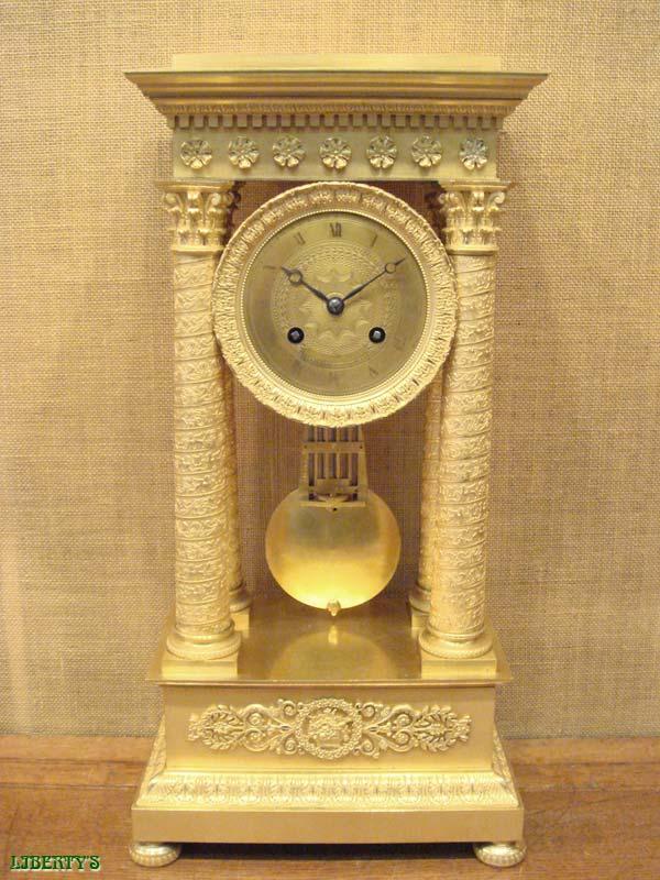 Liberty S Antiques Columns Clocks Horloges 224 Colonnes